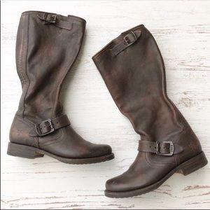 Frye 'Veronica' distressed slouch boots